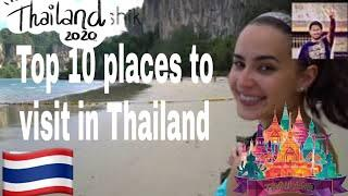 || Top 10 Places to Visit In Thailand || Bagpackers Travel to Thailand||Best time to visit Thailand|