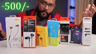 Top 7 Budget Earphones TEST - Must watch Before Buy !