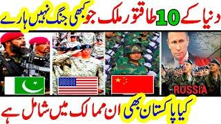 Top 10 Countries that never lost a single war   never lost a war   Cover Point