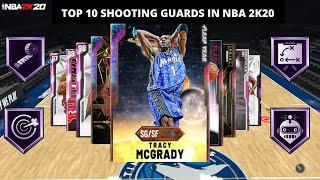 TOP 10 SHOOTING GUARDS IN NBA 2K20 MYTEAM!