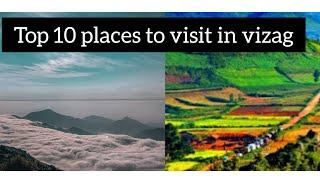 Top 10 places to visit in vizag❤️|| Must visit places in Visakhapatnam || City of destiny