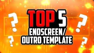 TOP 5 BEST OUTRO||Best YouTube end screen FREE Download⚡||Top five best end screen #outro #endscreen