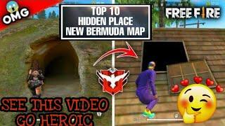 FREE FIRE:TOP 10 HIDDEN PLACE IN NEW BERMUDA MAP IN TAMIL para SAMSUNG,A3,A5,A6,A7,J2,J5,J7,S5,S6,S7