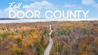 Door County Fall Colors + Top 10 Reasons to Visit in Autumn [4K]