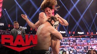 Riddle vs. SLAPJACK: Raw, Mar. 8, 2021