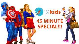 Little Superhero Special - NSK Classics - Supergirl, Capt America, Hulk, and more kid superheroes