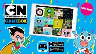 DÉCOUVREZ CARTOON NETWORK GAMEBOX, LA NOUVELLE APPLICATION DE CARTOON NETWORK DES LE 2 AVRIL