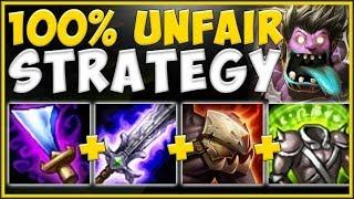 WTF! ON-HIT BUILD MAKES MUNDO 100% UNFAIR TO PLAY AGAINST! MUNDO TOP GAMEPLAY! - League of Legends