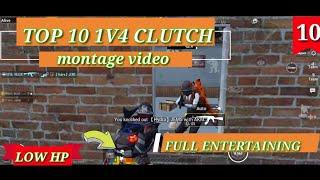 MONTAGE VIDEO TOP 10 1 V 4 CLUTCHES WATCH TILL END