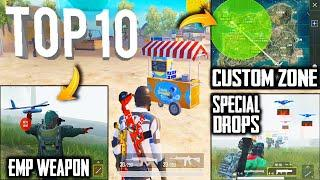TOP 10 NEW FEATURES IN PUBG MOBILE | Part - 2 | Pubg New Update