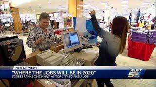 Forbes ranks Cincinnati as top city to find a job