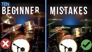 10 HUGE Mistakes Beginner Drummers Make - Drum Beats Online