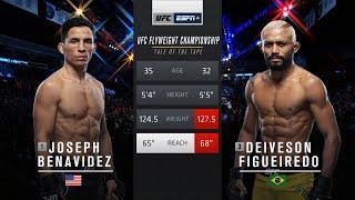 Fight Island Free Fight: Deiveson Figueiredo vs Joseph Benavidez 1