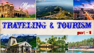 Top 10 # traveling & tourism places in India
