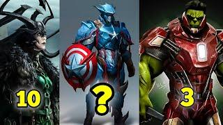 TOP 10 MOST DANGEROUS MARVEL SUPERVILLAINS WITH HIDDEN POWERS   Explained in Hindi   Power Spot