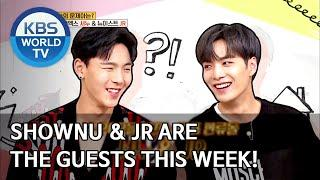 Shownu & JR are the guests this week! [Problem Child in House/2020.06.08]