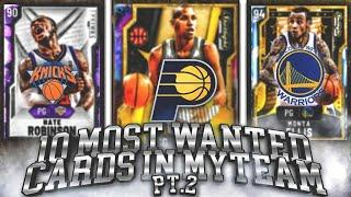 Top 10 Most Wanted Cards for NBA 2K20 My Team (Part 2)
