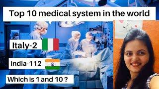 Top 10 Best healthcare systems in the world 2020| Best medical systems in the world | Hindi