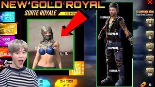 New Gold Royal and New Ff Token Bundle||Next Incubator Bundle Garena Freefire