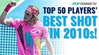 Every Top 50 ATP Tennis Player's BEST SHOT in 2010s Decade!