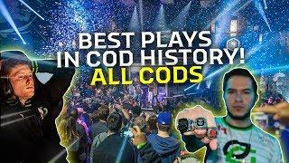 TOP 10 PLAYS IN EVERY CALL OF DUTY! (BEST IN COD HISTORY)