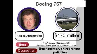 Top 10 Most Luxury and Expensive Private Air Jet In The World || with Owner Name || Picture 2020