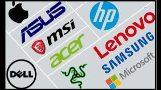 Top 10 Laptop Brands In World | Top 10 Best Laptop Companies In The World |