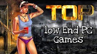 TOP 10 Games for Low END PC (64 MB / 256 MB VRAM / Intel GMA / Intel HD Graphics) | Focus GT