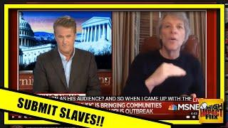 "More Propagandized INSANITY Submitting to Slavery is ""Doing the Right Thing"" - Jon Bon Jovi"