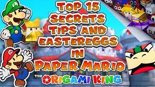 Top 15 Secrets, Tips and Eastereggs in Paper Mario: The Origami King
