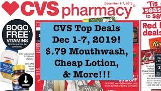 Cheap Lotion, Hair Appliances & More! CVS Extreme Couponing Top Deals Dec 1-7th!