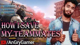 How i Save My Teammates in Pubg || How to rush properly in Pubg || Best Gun in Pubg M416 | #Angryboy