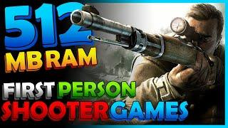 Top 10 Shooting Games for 512 MB RAM | Low End PC Games You Can Play Without Graphics Card