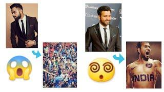 Top 5 batman: Cricketers celebrities    Who ever come to social media and when⁉️    #lvkvc   