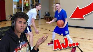 HE'S NUMBER 1 ON YOUR LIST?! AJ LAPRAY TOP 10 Basketball YouTubers List REACTION!