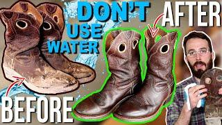 How To Clean & Condition (LEATHER BOOT CARE) - Leather Boots & Leather Shoes