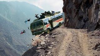 Top 10 Most Dangerous road in the world 2020   Death roads