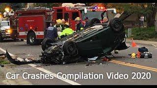 Dangerous Car Accidents Car Crashes Video Car Crash Compilation 2020