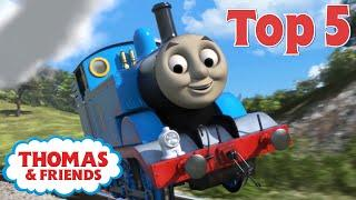 Thomas & Friends™ | Top 5 Jumps! | Best of Thomas Highlights | Thomas Top 5 | Kids Cartoon