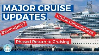 MAJOR CRUISE LINE UPDATES FOR MAY 10th! | NEW CANCELLATIONS & RETURN TO SERVICE DATES