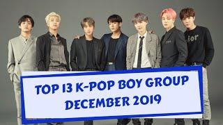 Top 13 K-Pop Boy Group Brand Reputation Rankings for December 2019