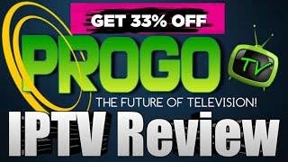 Progo TV Review - Top IPTV Service for 2020