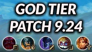 God Tier Champs For Solo Queue Patch 9.24 | Best Champions To Carry Ranked Tier List Season 10