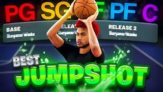 BEST JUMPSHOTS for EVERY BUILD/POSITION on NBA2K21! BEST SHOOTING BADGES, SETTINGS & TIPS in 2K21!