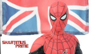Marvel Select Spider Man Far From Home Diamond Select Toys MCU Disney Store Action Figure Review