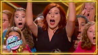 GOLDEN BUZZER | Disney Choir MOVE The Judges On America's Got Talent! | Top Talent