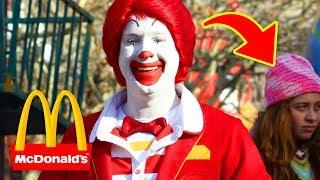 10 Secrets About Being Ronald McDonald You NEVER Thought About