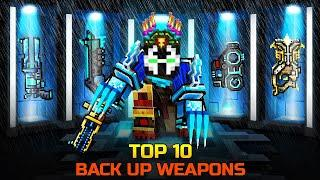 Pixel Gun 3D - TOP 10 Back Up Weapons / Best Weapons for Coupons (Part 1)