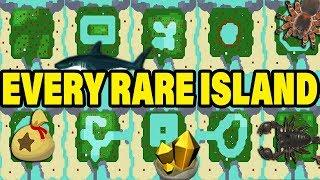 ALL 20 ANIMAL CROSSING NEW HORIZONS MYSTERY ISLANDS! EVERY Animal Crossing Rare Island Datamine!
