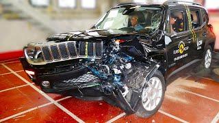 2020 Jeep Renegade – Bad Result To Crash Test